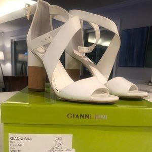 White Gianni Beni Sandals!